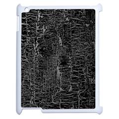 Old Black Background Apple Ipad 2 Case (white) by Nexatart