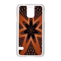 Digital Kaleidoskop Computer Graphic Samsung Galaxy S5 Case (white) by Nexatart