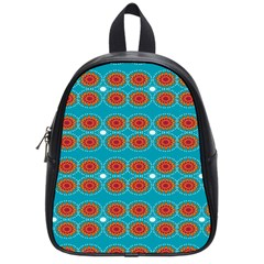 Floral Seamless Pattern Vector School Bags (small)  by Nexatart