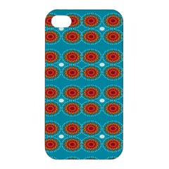 Floral Seamless Pattern Vector Apple Iphone 4/4s Hardshell Case by Nexatart