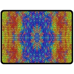 A Creative Colorful Backgroun Double Sided Fleece Blanket (large)  by Nexatart
