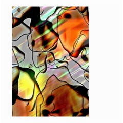 Abstract Pattern Texture Small Garden Flag (two Sides) by Nexatart