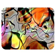 Abstract Pattern Texture Double Sided Flano Blanket (medium)  by Nexatart