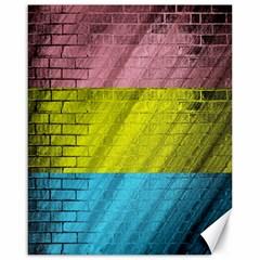 Brickwall Canvas 16  X 20   by Nexatart