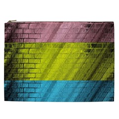 Brickwall Cosmetic Bag (xxl)  by Nexatart