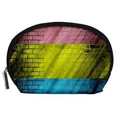 Brickwall Accessory Pouches (Large)  by Nexatart