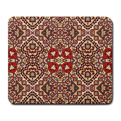 Seamless Pattern Based On Turkish Carpet Pattern Large Mousepads by Nexatart