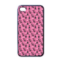 Cute Cats I Apple Iphone 4 Case (black) by tarastyle