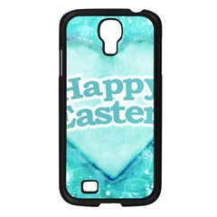 Happy Easter Theme Graphic Samsung Galaxy S4 I9500/ I9505 Case (black) by dflcprints