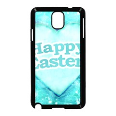 Happy Easter Theme Graphic Samsung Galaxy Note 3 Neo Hardshell Case (black) by dflcprints