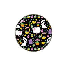 Cute Easter Pattern Hat Clip Ball Marker (10 Pack) by Valentinaart