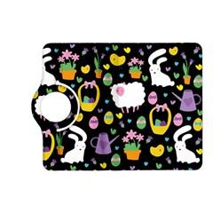 Cute Easter Pattern Kindle Fire Hd (2013) Flip 360 Case by Valentinaart