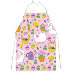 Cute Easter Pattern Full Print Aprons by Valentinaart