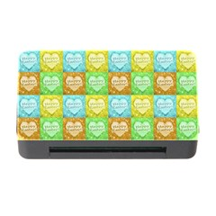 Colorful Happy Easter Theme Pattern Memory Card Reader With Cf by dflcprints