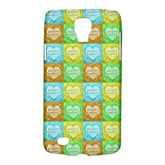 Colorful Happy Easter Theme Pattern Galaxy S4 Active by dflcprints