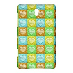 Colorful Happy Easter Theme Pattern Samsung Galaxy Tab S (8 4 ) Hardshell Case  by dflcprints