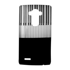 Piano Keys On The Black Background Lg G4 Hardshell Case by Nexatart