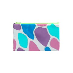 Baby Pink Girl Party Pattern Colorful Background Art Digital Cosmetic Bag (xs) by Nexatart