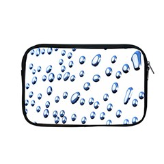 Water Drops On White Background Apple Macbook Pro 13  Zipper Case by Nexatart