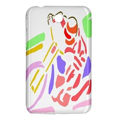 Motorcycle Racing The Slip Motorcycle Samsung Galaxy Tab 3 (7 ) P3200 Hardshell Case  by Nexatart