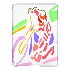 Motorcycle Racing The Slip Motorcycle Samsung Galaxy Tab S (10 5 ) Hardshell Case  by Nexatart