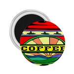 Coffee Tin A Classic Illustration 2.25  Magnets
