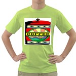 Coffee Tin A Classic Illustration Green T-Shirt