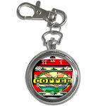 Coffee Tin A Classic Illustration Key Chain Watches