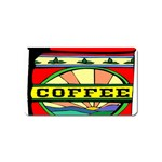 Coffee Tin A Classic Illustration Magnet (Name Card)