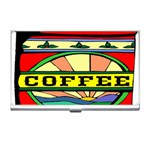 Coffee Tin A Classic Illustration Business Card Holders