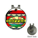 Coffee Tin A Classic Illustration Hat Clips with Golf Markers