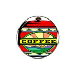 Coffee Tin A Classic Illustration Hat Clip Ball Marker (10 pack)