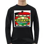Coffee Tin A Classic Illustration Long Sleeve Dark T-Shirts