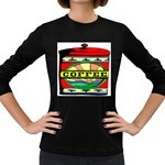 Coffee Tin A Classic Illustration Women s Long Sleeve Dark T-Shirts