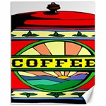 Coffee Tin A Classic Illustration Canvas 16  x 20