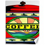Coffee Tin A Classic Illustration Canvas 18  x 24