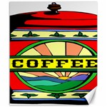 Coffee Tin A Classic Illustration Canvas 20  x 24