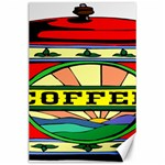 Coffee Tin A Classic Illustration Canvas 24  x 36
