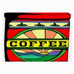 Coffee Tin A Classic Illustration Large Glasses Cloth