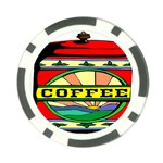 Coffee Tin A Classic Illustration Poker Chip Card Guard (10 pack)