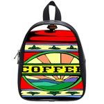 Coffee Tin A Classic Illustration School Bags (Small)