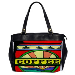 Coffee Tin A Classic Illustration Office Handbags by Nexatart
