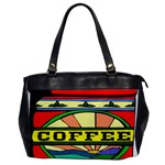 Coffee Tin A Classic Illustration Office Handbags