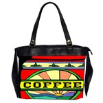 Coffee Tin A Classic Illustration Office Handbags (2 Sides)