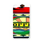 Coffee Tin A Classic Illustration Apple iPhone 4 Case (White)