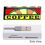 Coffee Tin A Classic Illustration Memory Card Reader (Stick)