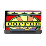 Coffee Tin A Classic Illustration Memory Card Reader with CF