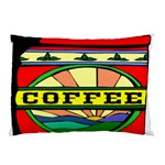 Coffee Tin A Classic Illustration Pillow Case (Two Sides)