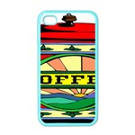 Coffee Tin A Classic Illustration Apple iPhone 4 Case (Color)