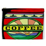 Coffee Tin A Classic Illustration Cosmetic Bag (XXL)